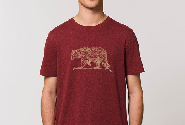 Basic T-Shirt - Golden Bear