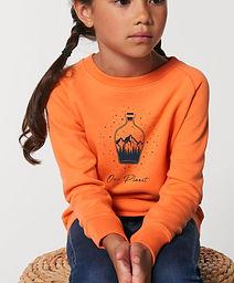 Our_Planet_orange_Sweater_Kids_Biobaumwo
