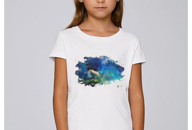 Hädnler Mädchen T-Shirt - Königspinguin