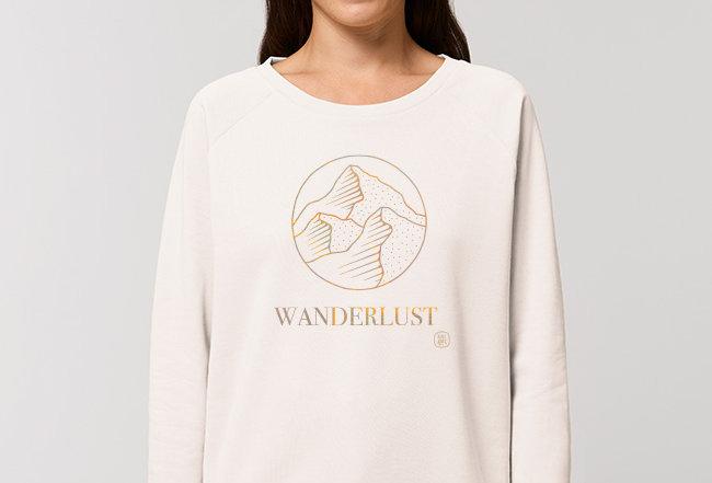 Modernstyle Sweatshirt- Wanderlust