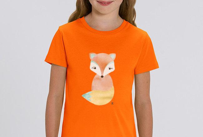 Händler Mädchen T-Shirt- Volpe