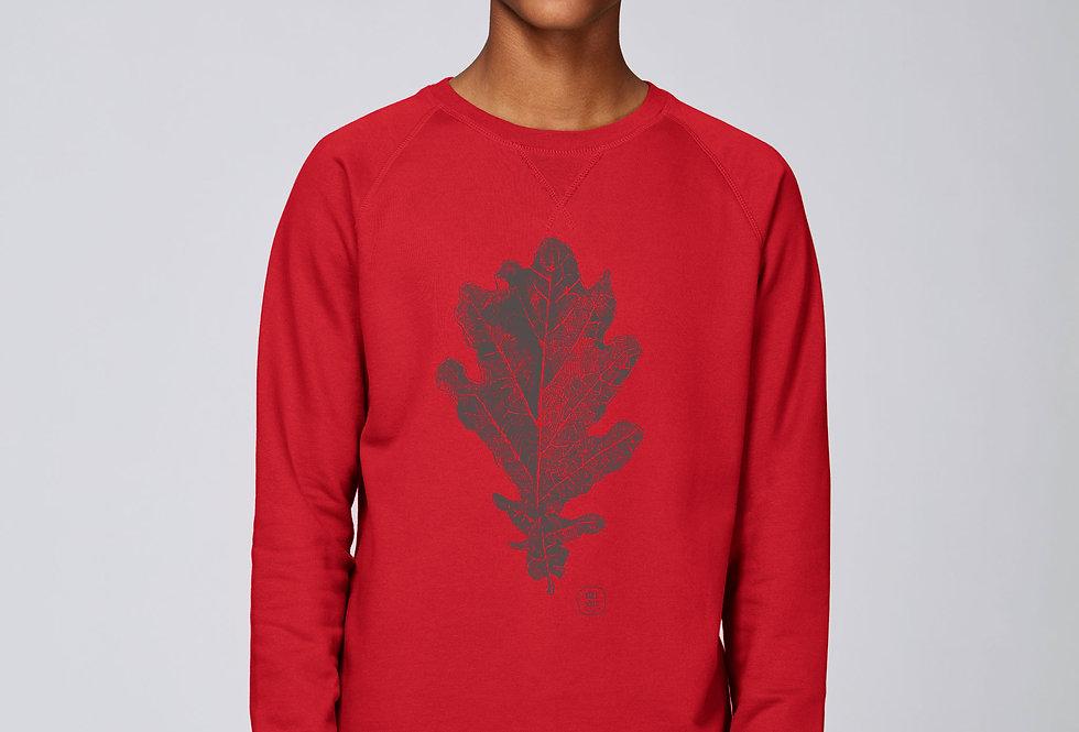 Basic Sweatshirt - Eichenblatt