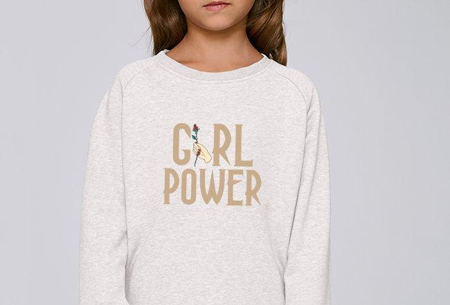 Mädchen Sweatshirt - Girl Power