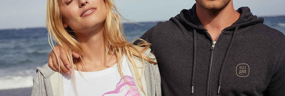 Boyfriend T-Shirt- PINK FADED