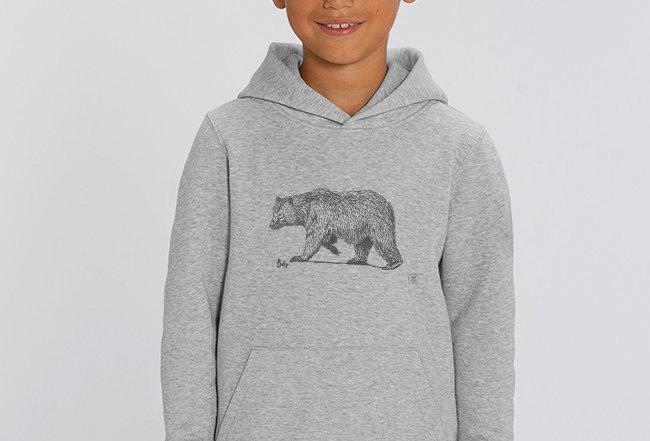 Jungen Hoodie - Bär