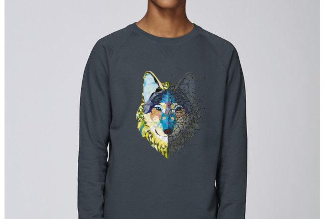Basic Sweatshirt - Wolf