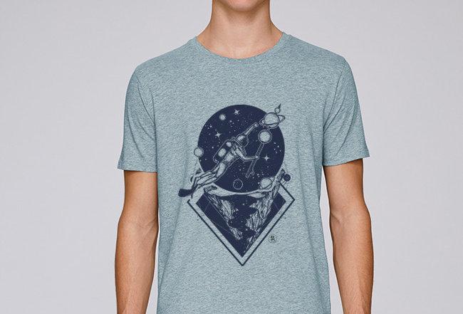 Basic T-Shirt - Weltalltaucher