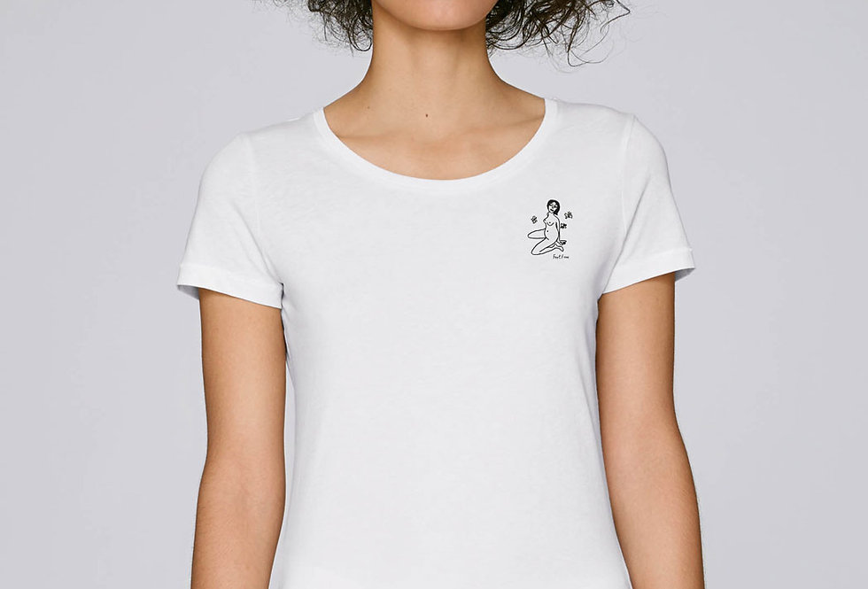 Basic T-Shirt - Reine Biobaumwolle - FeelFree