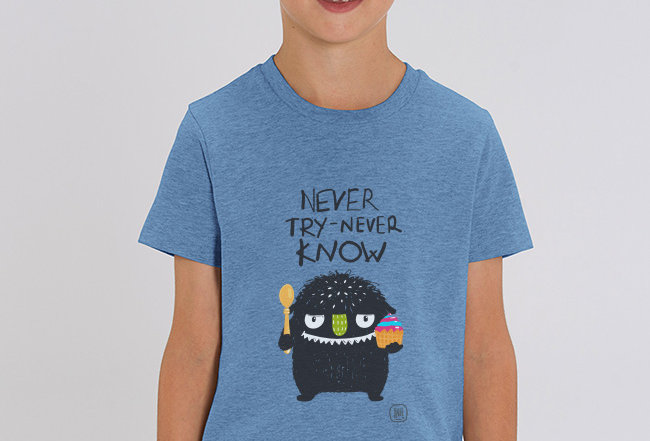 Jungs T-Shirt-NEVER TRY NEVER NOW