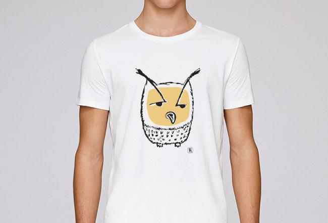 Basic T-Shirt - Owl