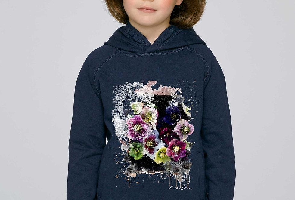 Mädchen Hoodie - Fleur d'Automne