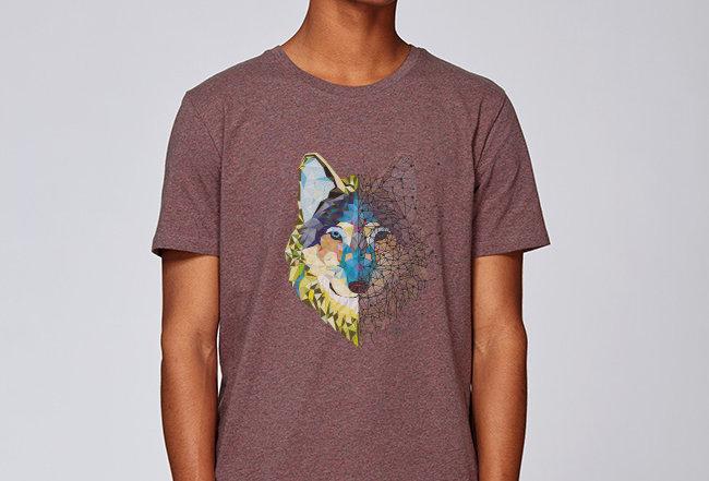 Basic T-Shirt - Wolf