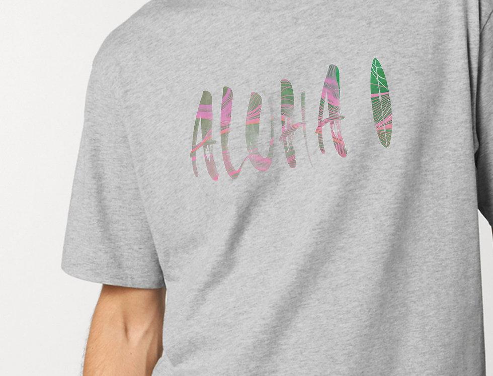 Oversize Shirt aus weicher Biobaumwolle /Aloha