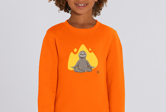 Jungs Sweatshirt - Yogafaultier