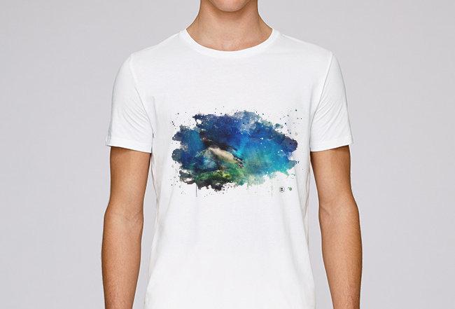 Basic T-Shirt - Königspinguin