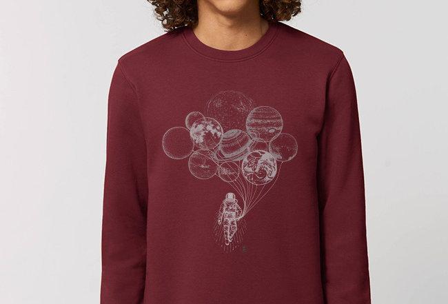 Basic Sweatshirt - Astronaut