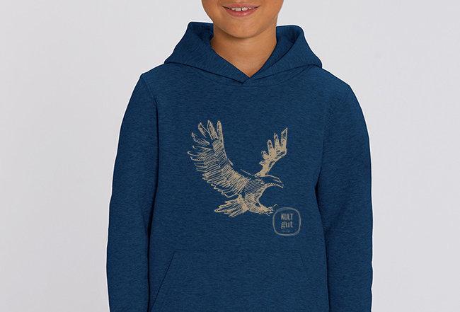 Jungen Hoodie - Eagle
