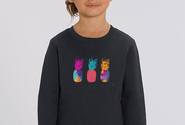 Mädchen Sweatshirt - Pineapple