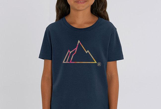 Mädchen T-Shirt- FADED MOUNTAIN