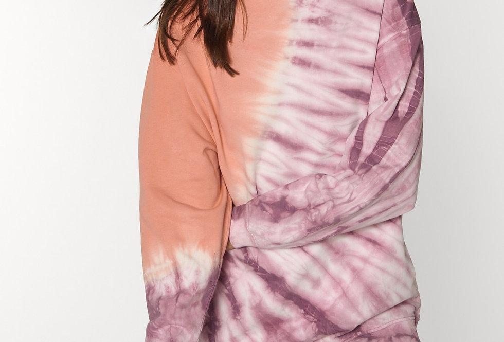 Oversize  Batik- Sweater