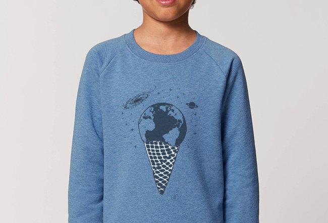 Jungs Sweatshirt - Eine Kugel Erde