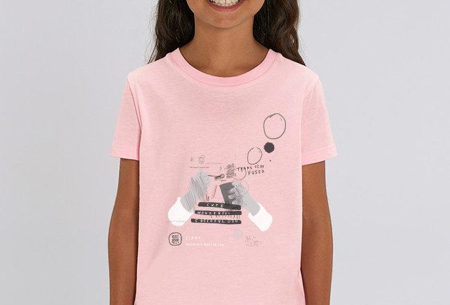 Mädchen T-Shirt - Seifenblasen
