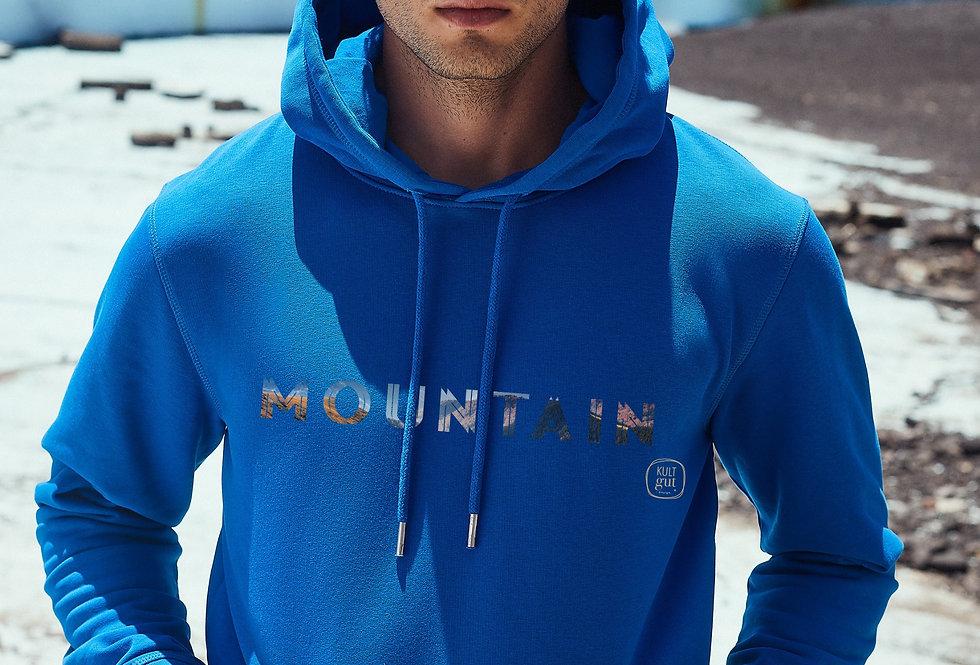 Lässiger Hoodie- Innen flauschig / Mountain