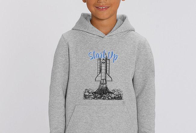 Jungen Hoodie - Rakete