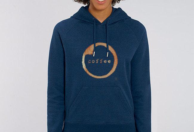 Damen Basic Hoodie - Coffee