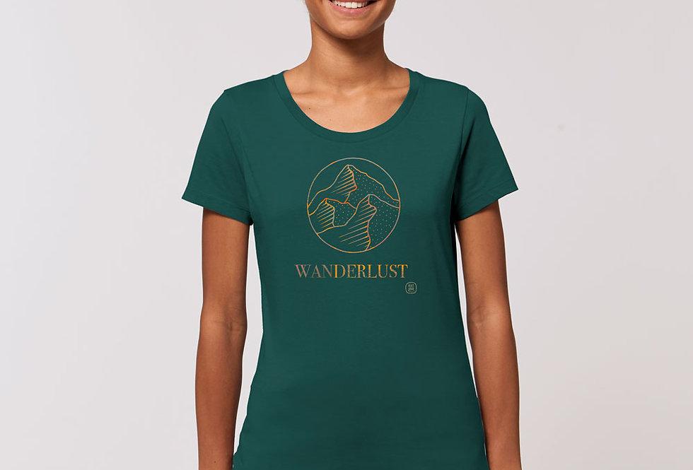 Basic T-Shirt - Reine Biobaumwolle - Wanderlust