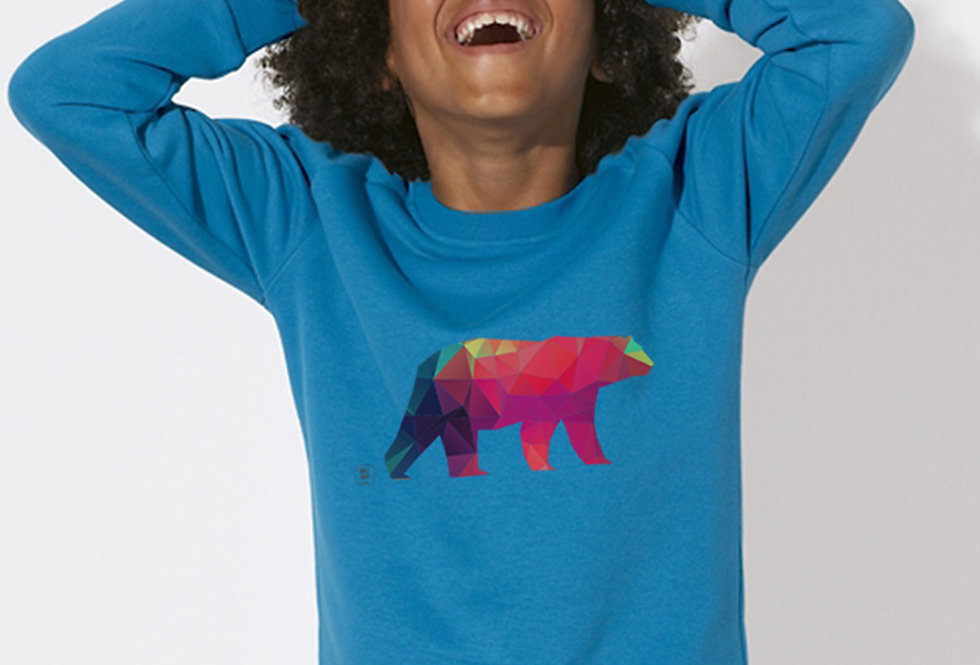 Jungs Sweatshirt  - Polarbär