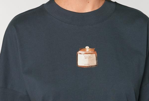 Shirt oversize geschnitten  / Candellight