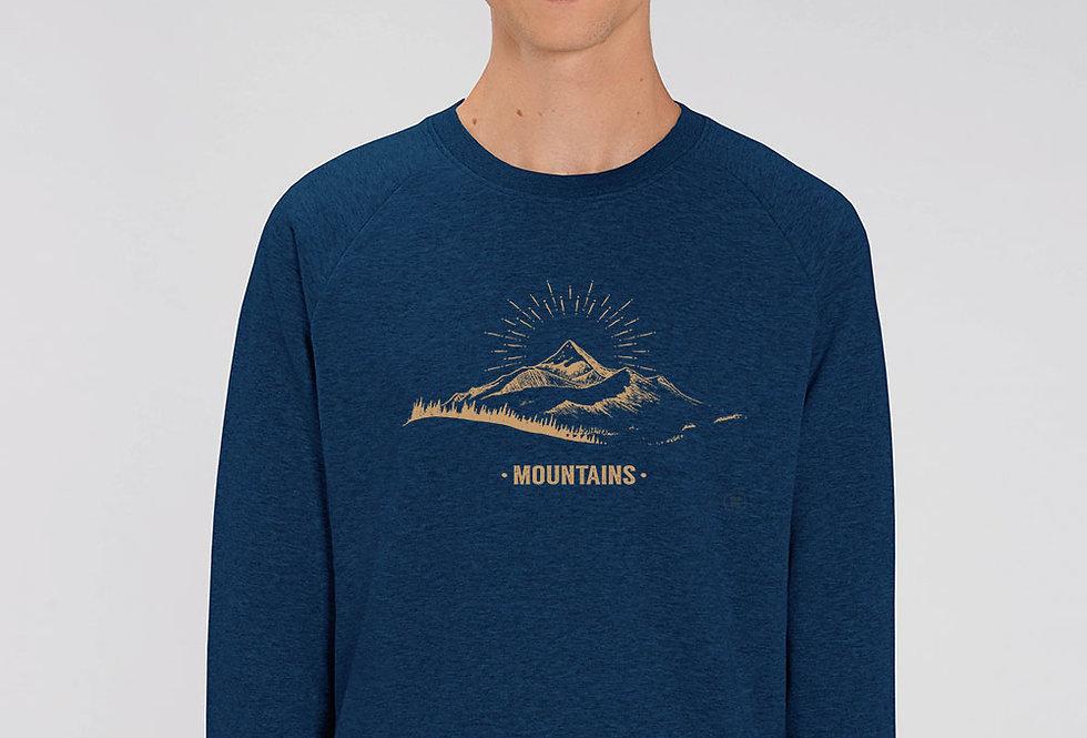 Basic Sweatshirt - Mountains