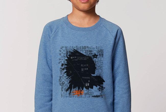 Jungs Sweatshirt - Häuptling
