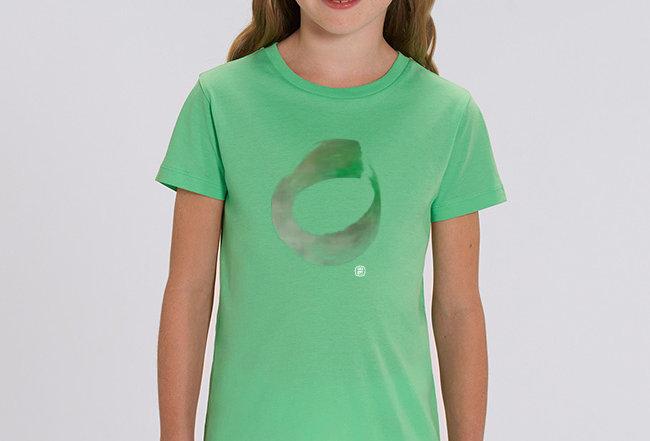 Mädchen T-Shirt- THINK GREEN