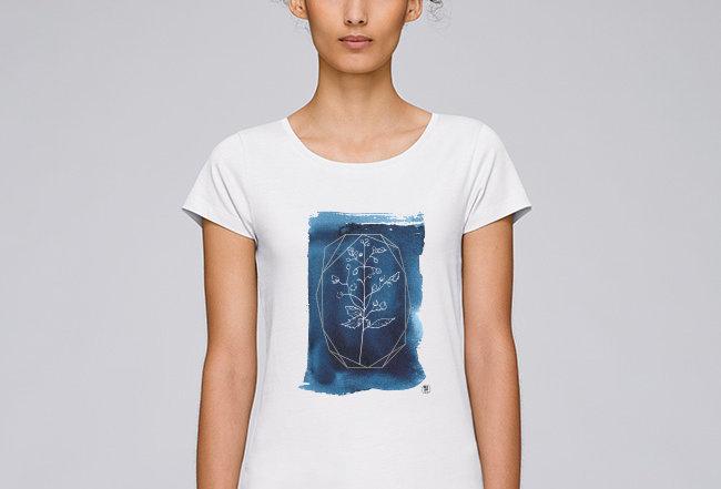 Basic T-Shirt - blue secret