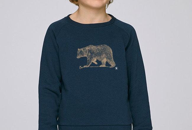 Jungs Sweatshirt - Golden Bear