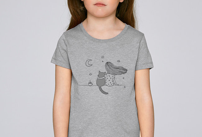 Mädchen T-Shirt - Beste Freunde