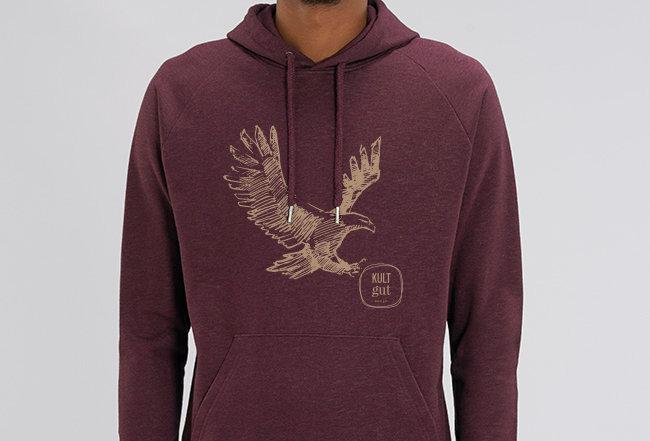 Basic Hoodie- Eagle