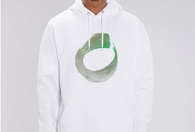 Unisex Hoodie- Think Green