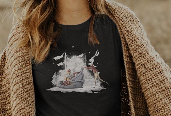Shirt oversize geschnitten  /Snowrabitt