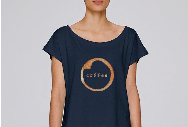 Händler Oversize T-Shirt - Coffee