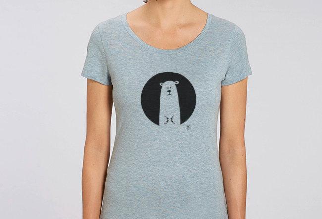 Basic T-Shirt- Icebear
