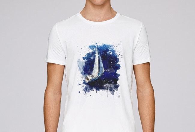 Basic T-Shirt - Segelboot