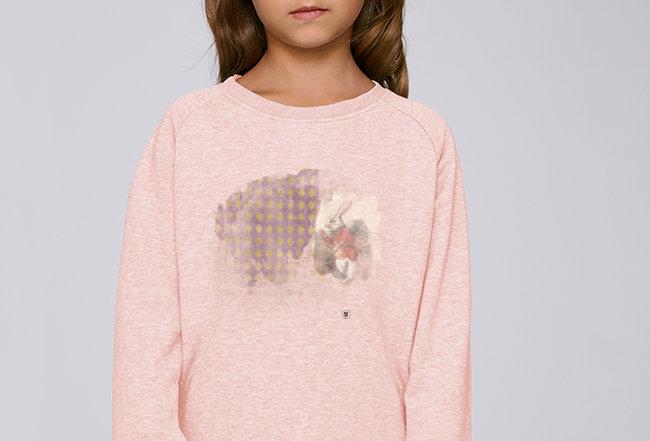 Mädchen Sweatshirt- Rabbit Wunderland
