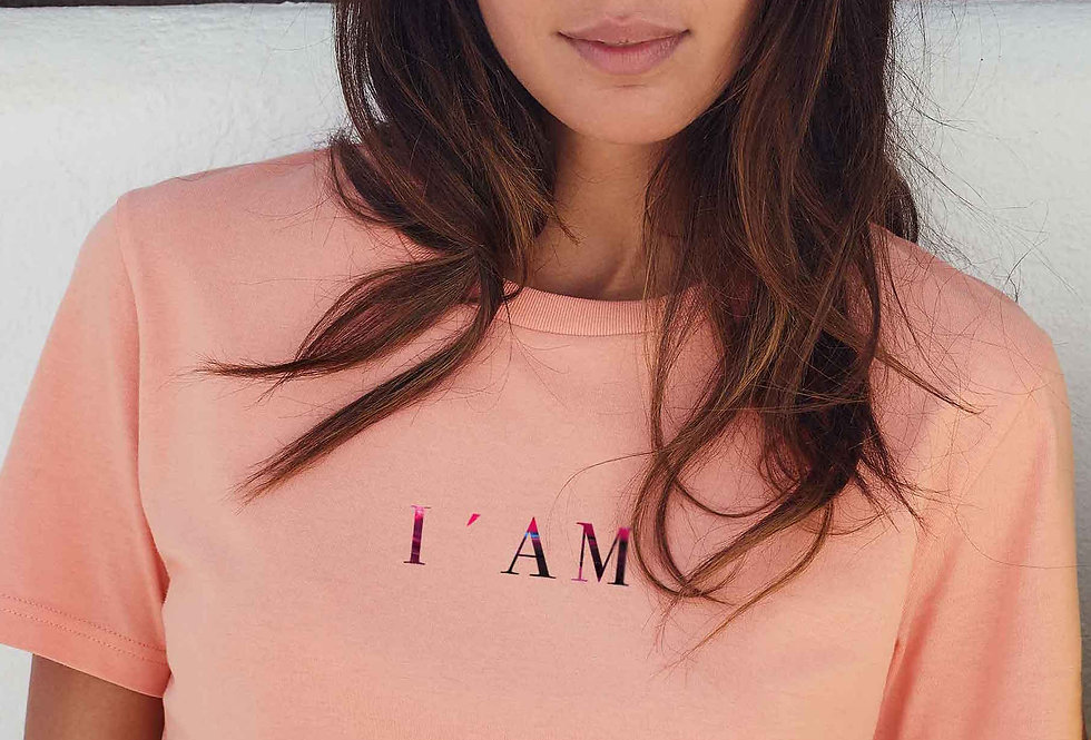 Boyfriend T-Shirt- I'AM