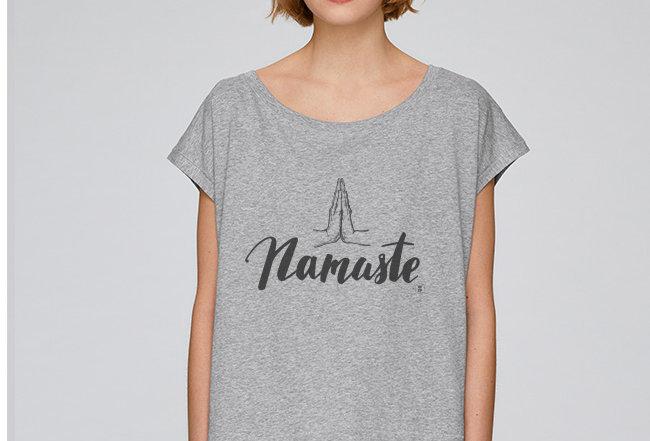 Händler Oversize T-Shirt  - Namaste