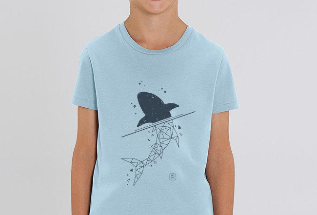Jungen T-Shirt - Shark