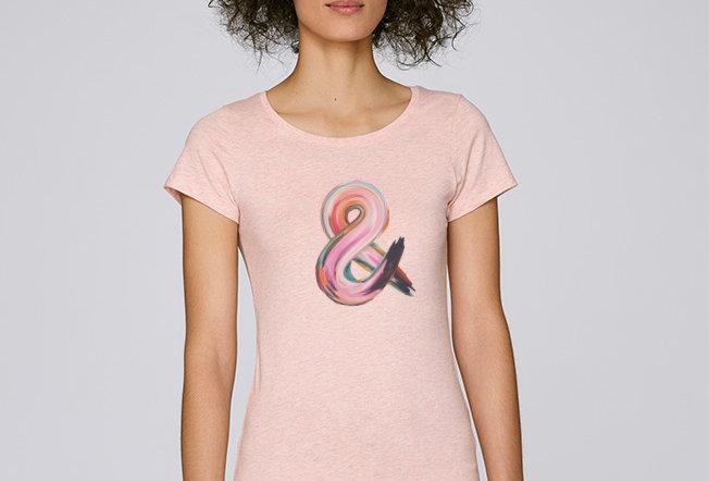 Basic T-Shirt - Reine Biobaumwolle - &endlichkeit