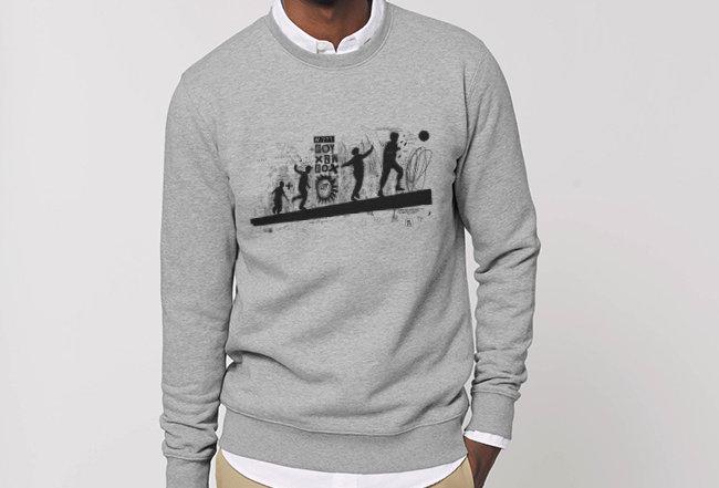Sweatshirt - Innen flauschig - Spielplatz